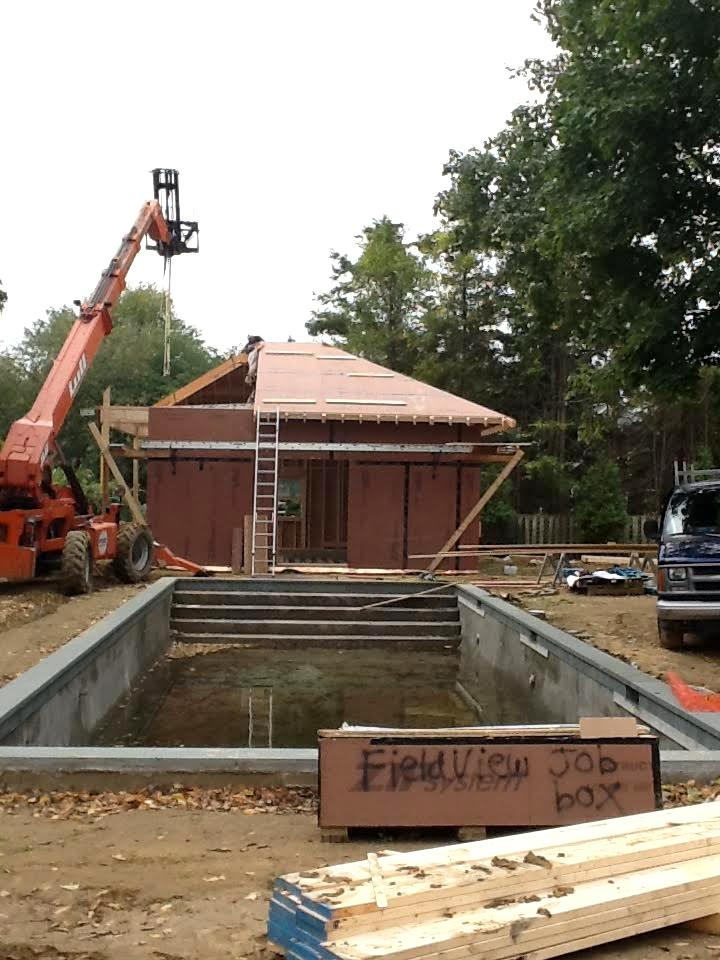 Garage/Pool House Construction