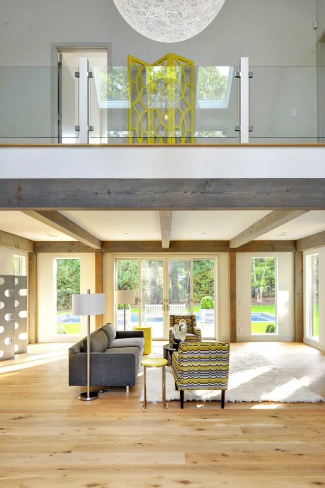 Oyster Shores Contemporary Barn Home - PHOTOGRAPHY BY CHRIS FOSTER