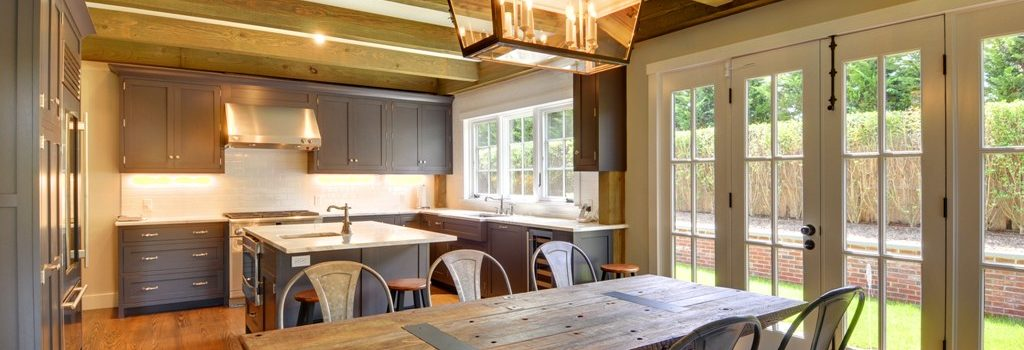 East Hampton Cottage Style Kitchen