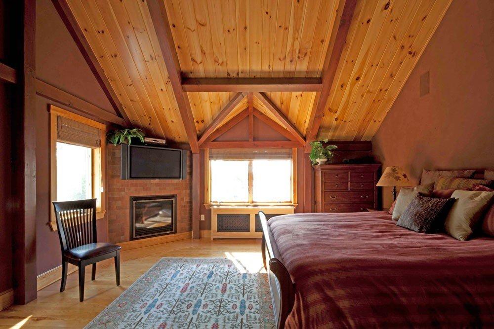 Cedar Cove a Post and Beam Barn Home