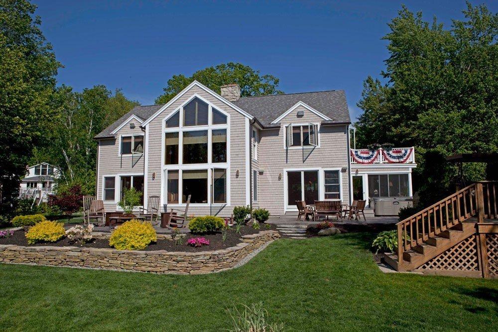 Cedar Covea Post and Beam Barn Home