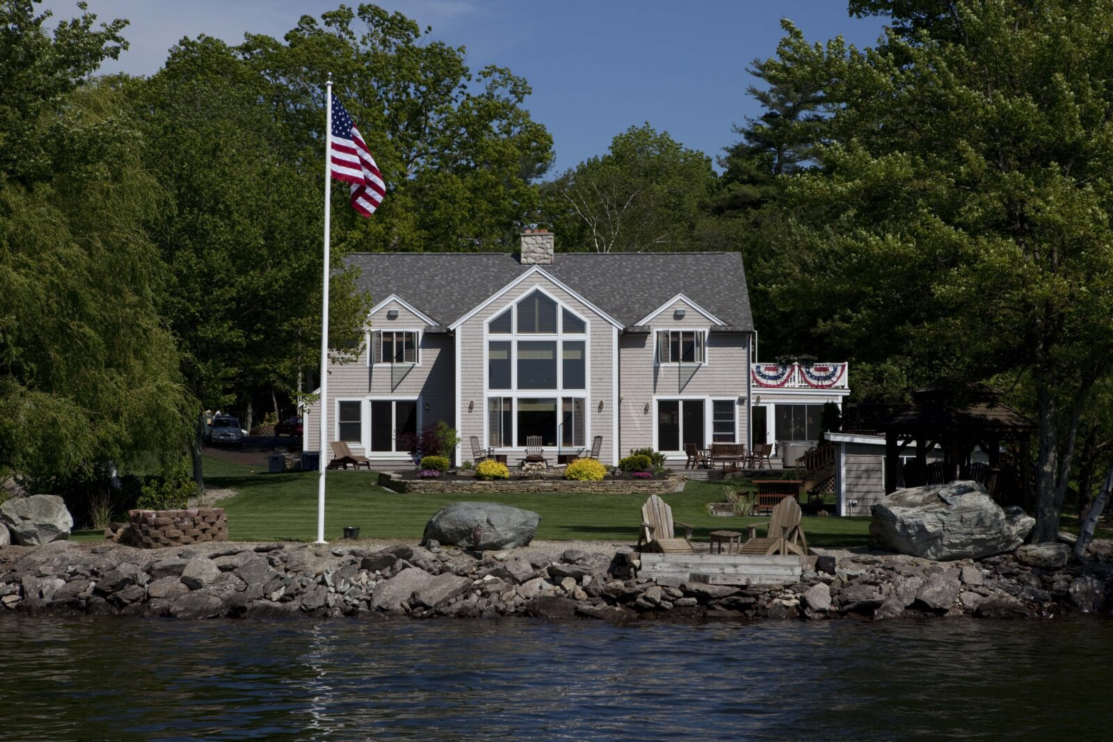 Cedar Cove Post and Beam Barn Home