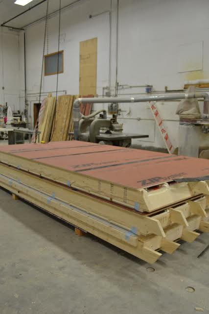 True Roof Panel in Production