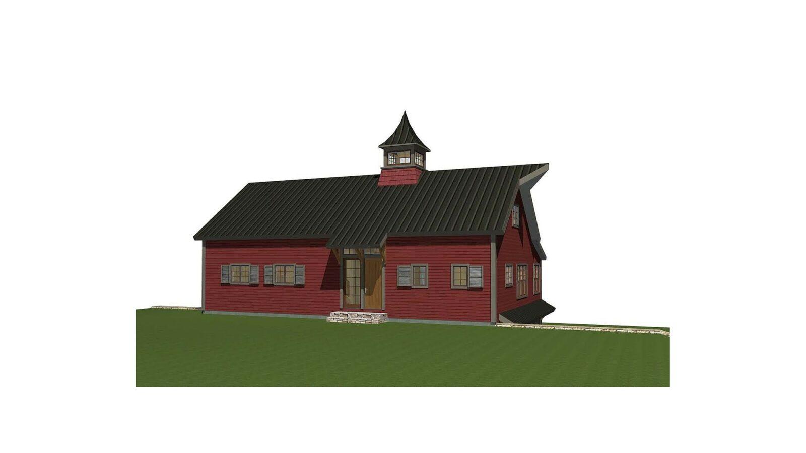 Stone Mountain Barn Home