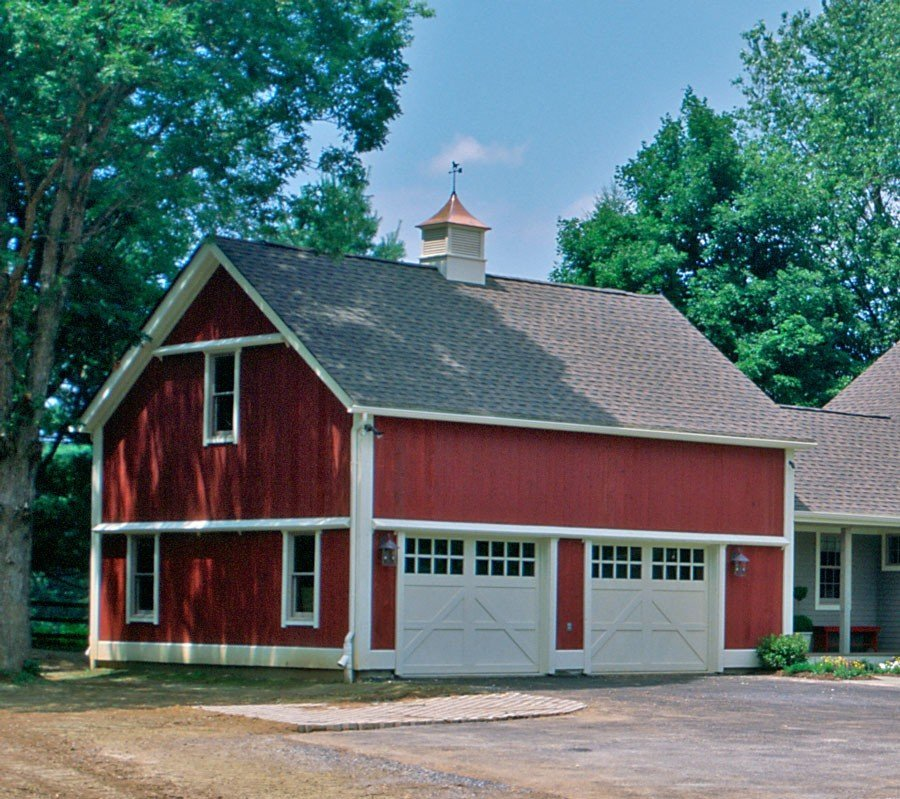 Timber Frame Garage and Guest House