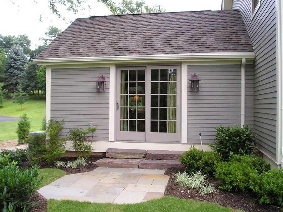 Post and Beam Master Bedroom Exterior