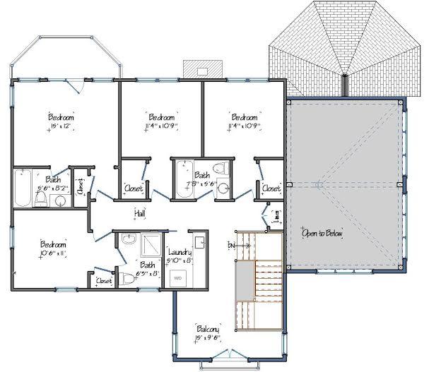 Fieldview Level Two Floor Plan
