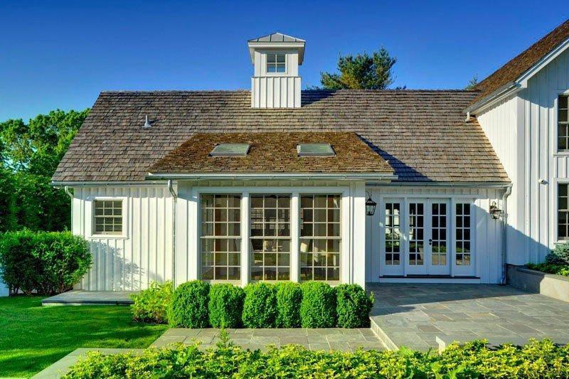 East Hampton Post and Beam Barn Home