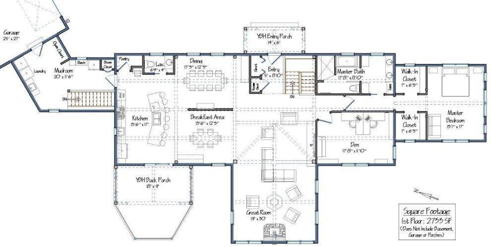 Granite Ridge Main Level Floor Plan