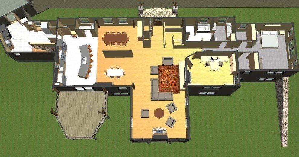 Overview Single Story Floor Plan