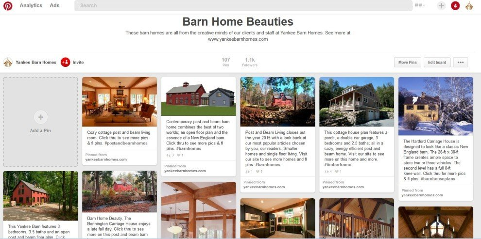 YBH on Pinterest Barn Home Beauties Board