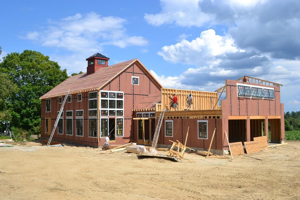 YBH House Build Site Construction