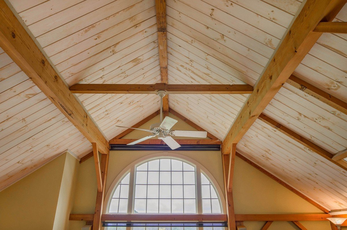 Traditional Timber Frame Barn Style Home