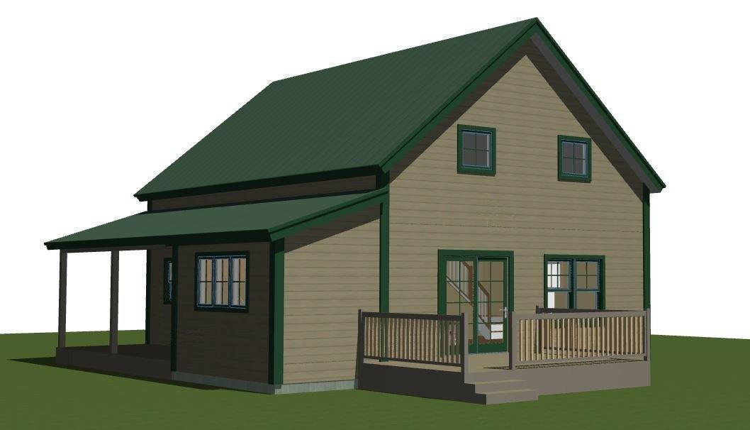 Panelized Small Barn Home