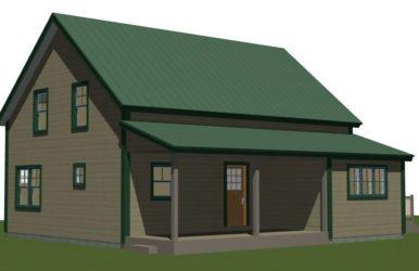 Prefabricated Custom Small Barn Home