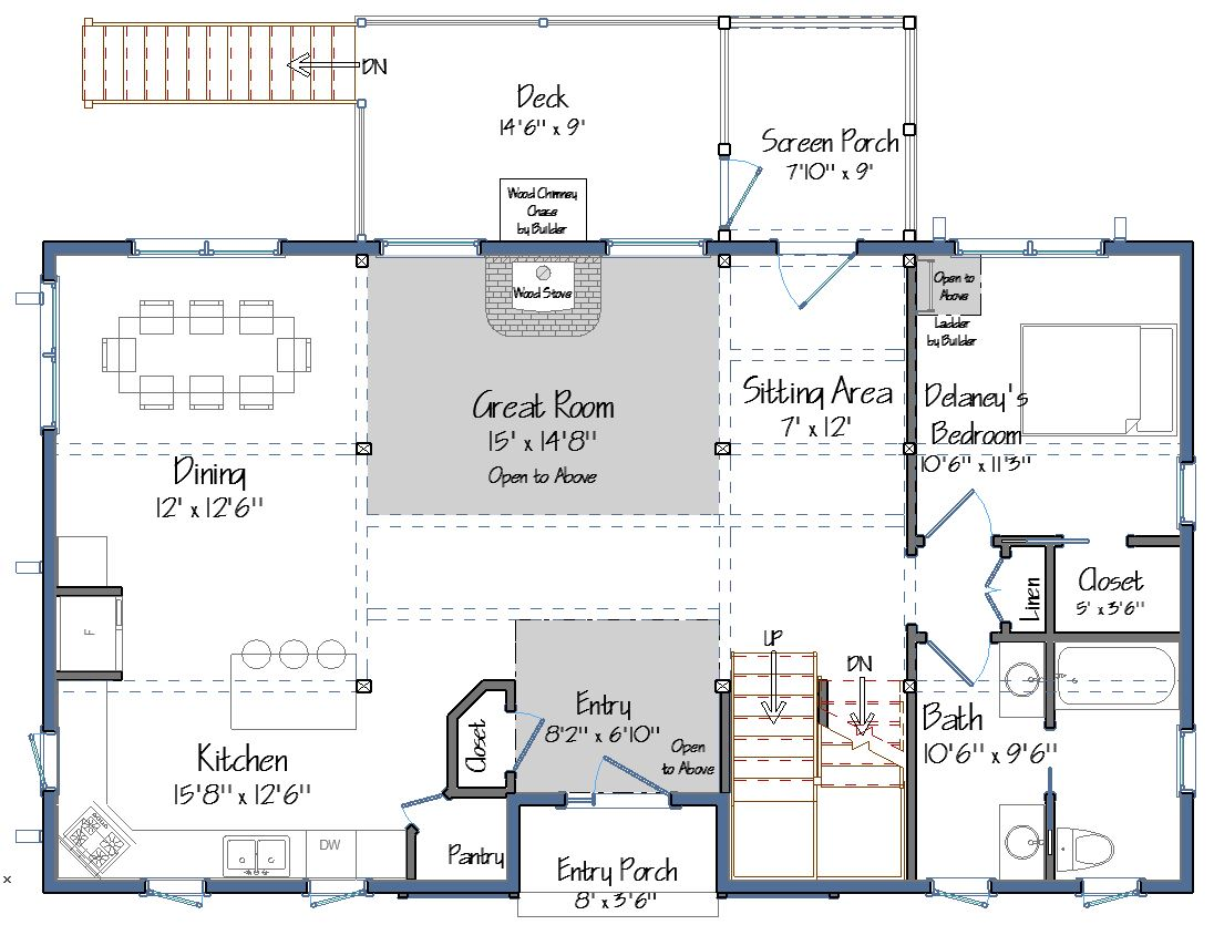 Timber Frame Floor Plan Preview