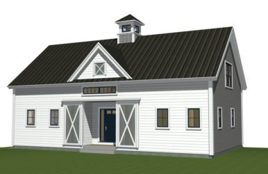 Barn Home Custom Design - Prefabricated, Panelized, Green Building, Post And Beam, Timber Frame