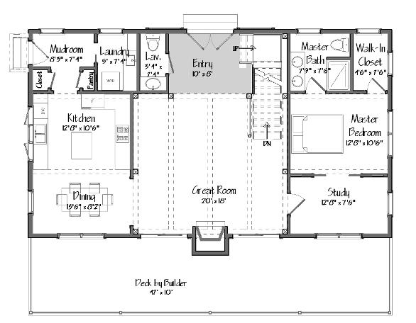 Grantham Lakehouse Level One
