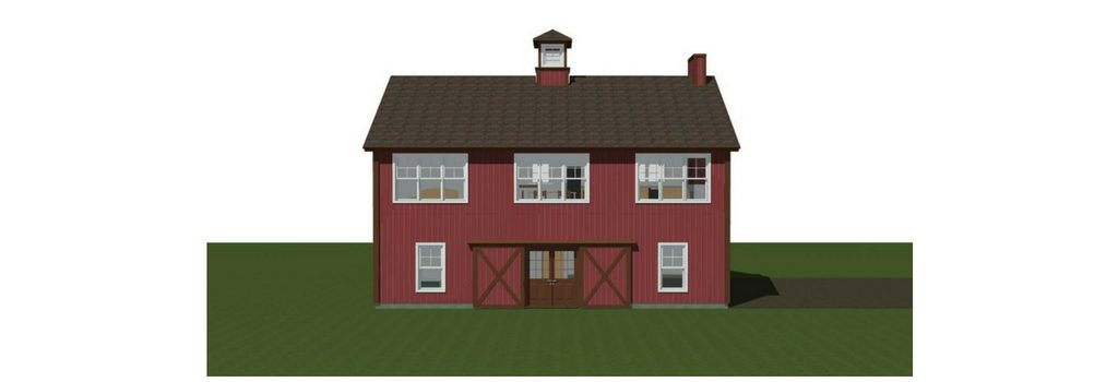 Small Barn House Post And Beam Plans