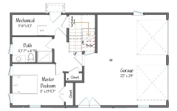 Carriage House Layout Preview
