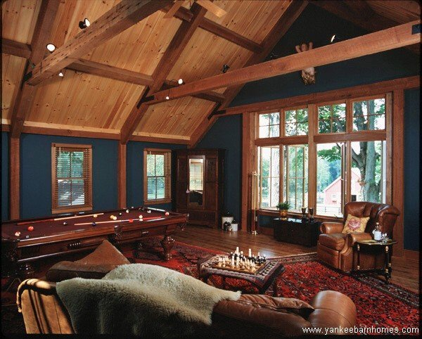 Paint Color w/ Post and Beam