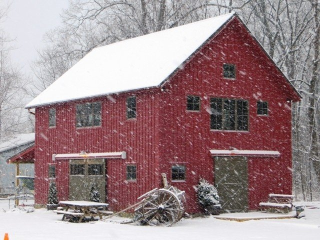 Edgewater Carriage House Early Snow