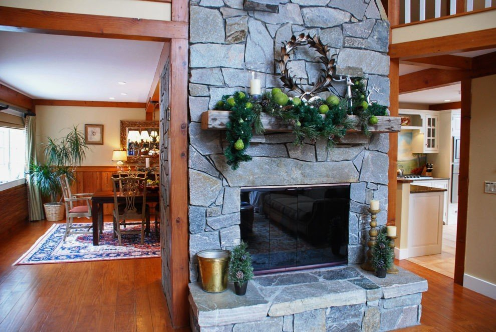 Gathering House Holiday Mantle