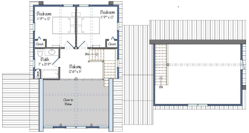Huntington Lodge Level Two Foor Plan