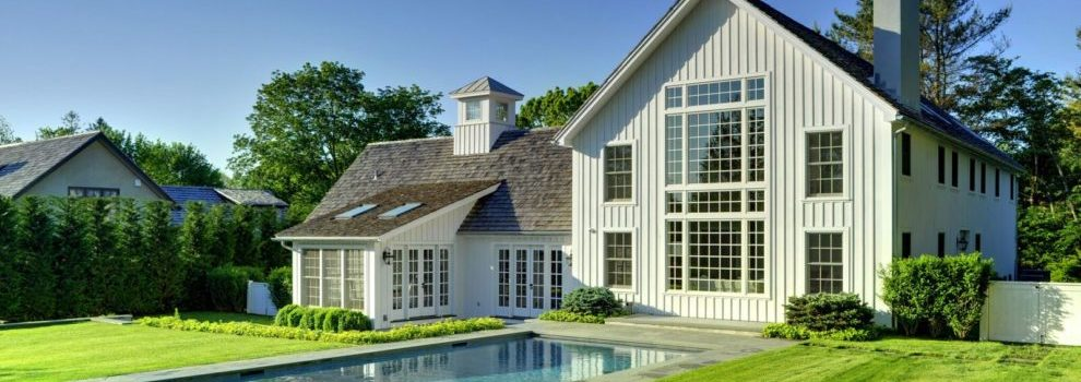 Laurel Hollow Contemporary Barn Home