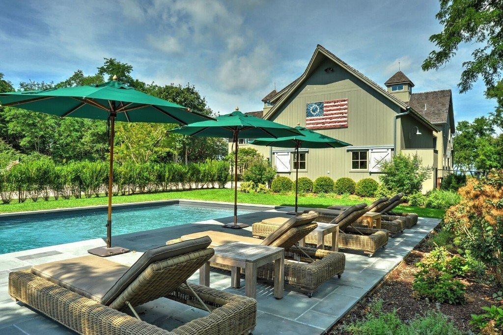 Southold Pool Yard Patio