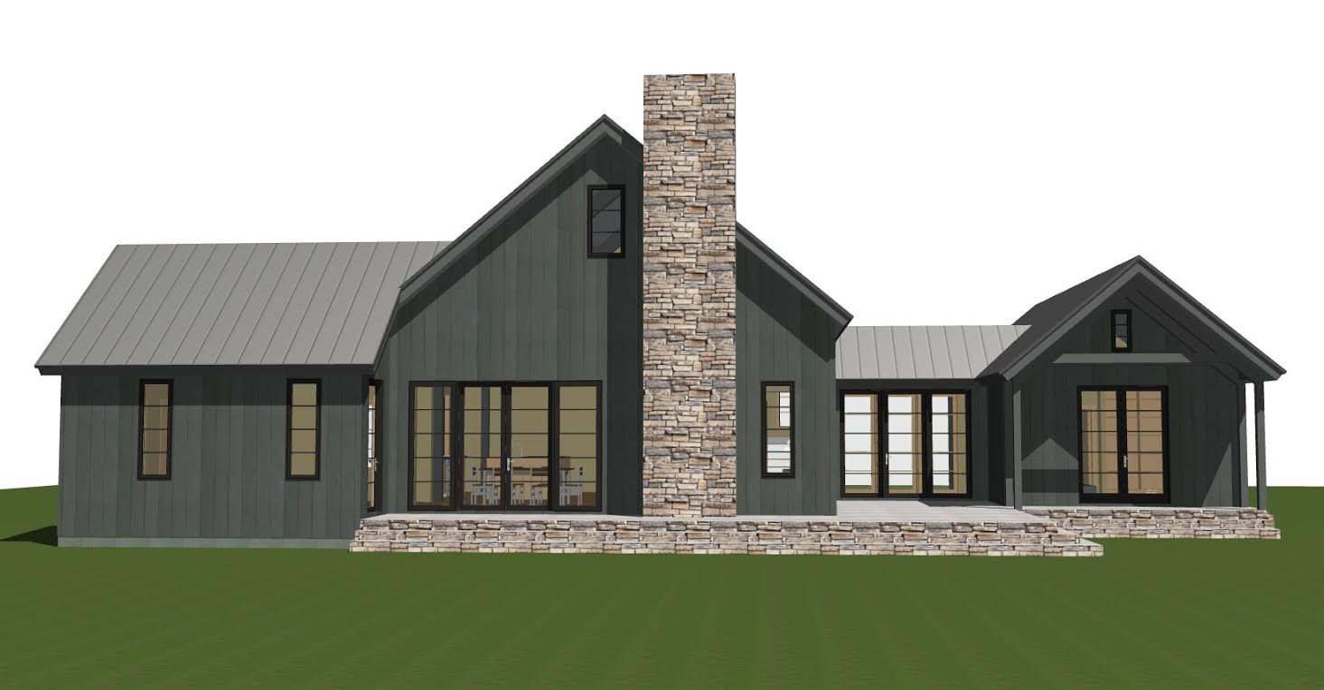 Contemporary Barn Home Lexington