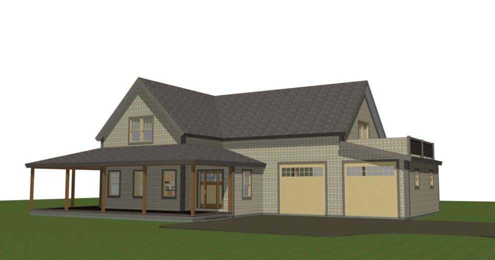Main Street Farmhouse Rendering Two