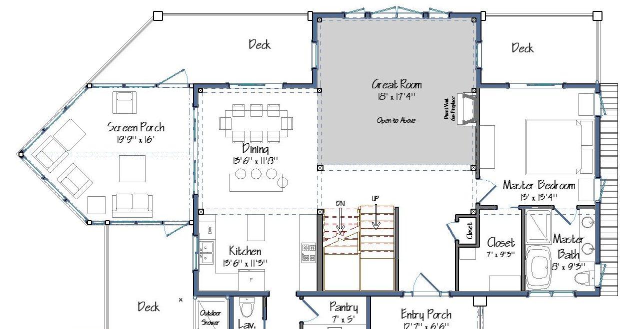 Barn Home Plans for Multi Gen Living