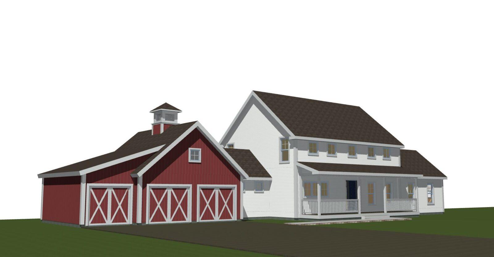 Clare Farmhouse Exterior 4