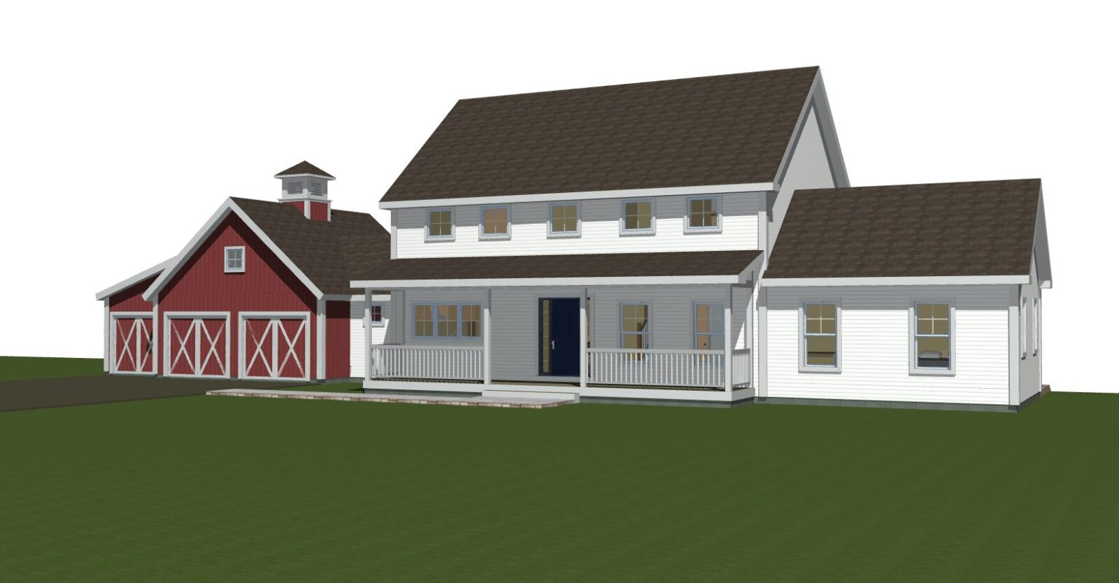 Clare Farmhouse Exterior Featured