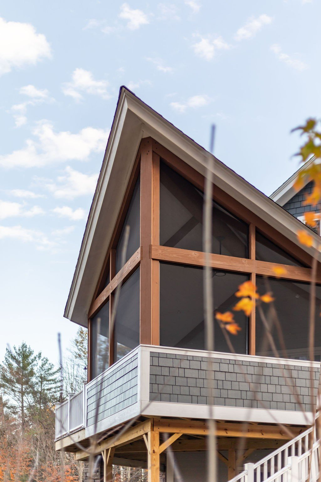 Loon Crossing Prow Porch