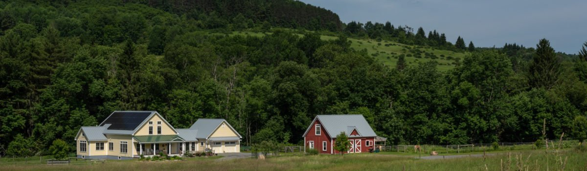 The Cooperstown Farmhouse And Barn