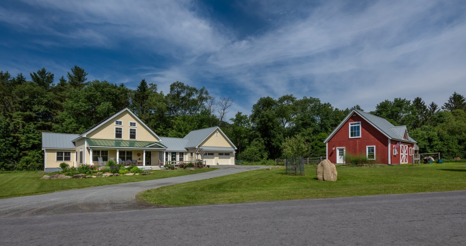 Cooperstown Farmhouse and Barn