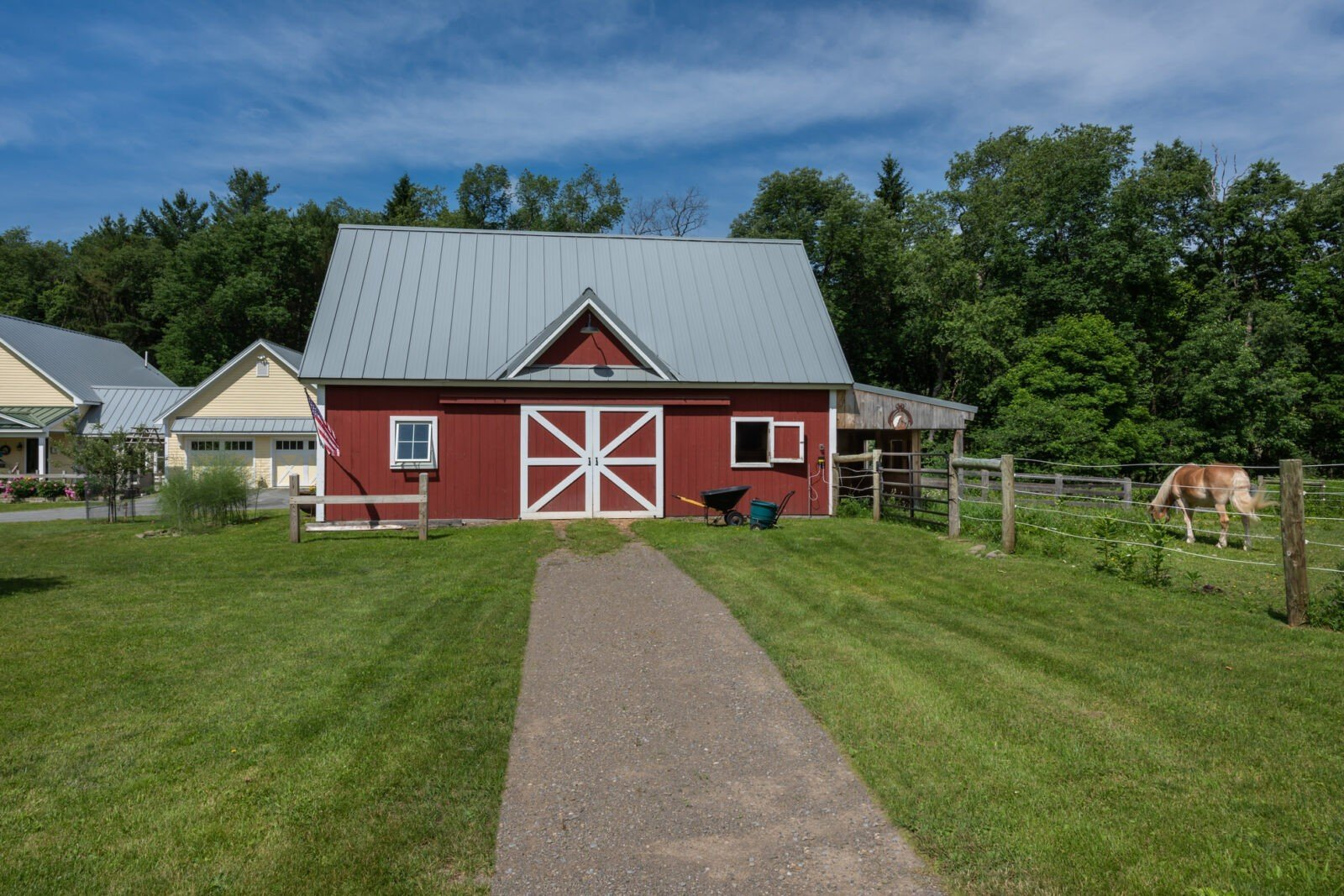 Cooperstown Farmhouse Barn