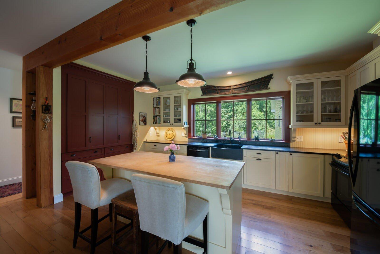 Cooperstown Farmhouse Kitchen