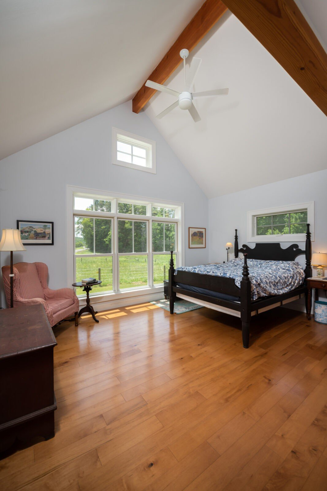 Cooperstown Farmhouse Master Bedroom