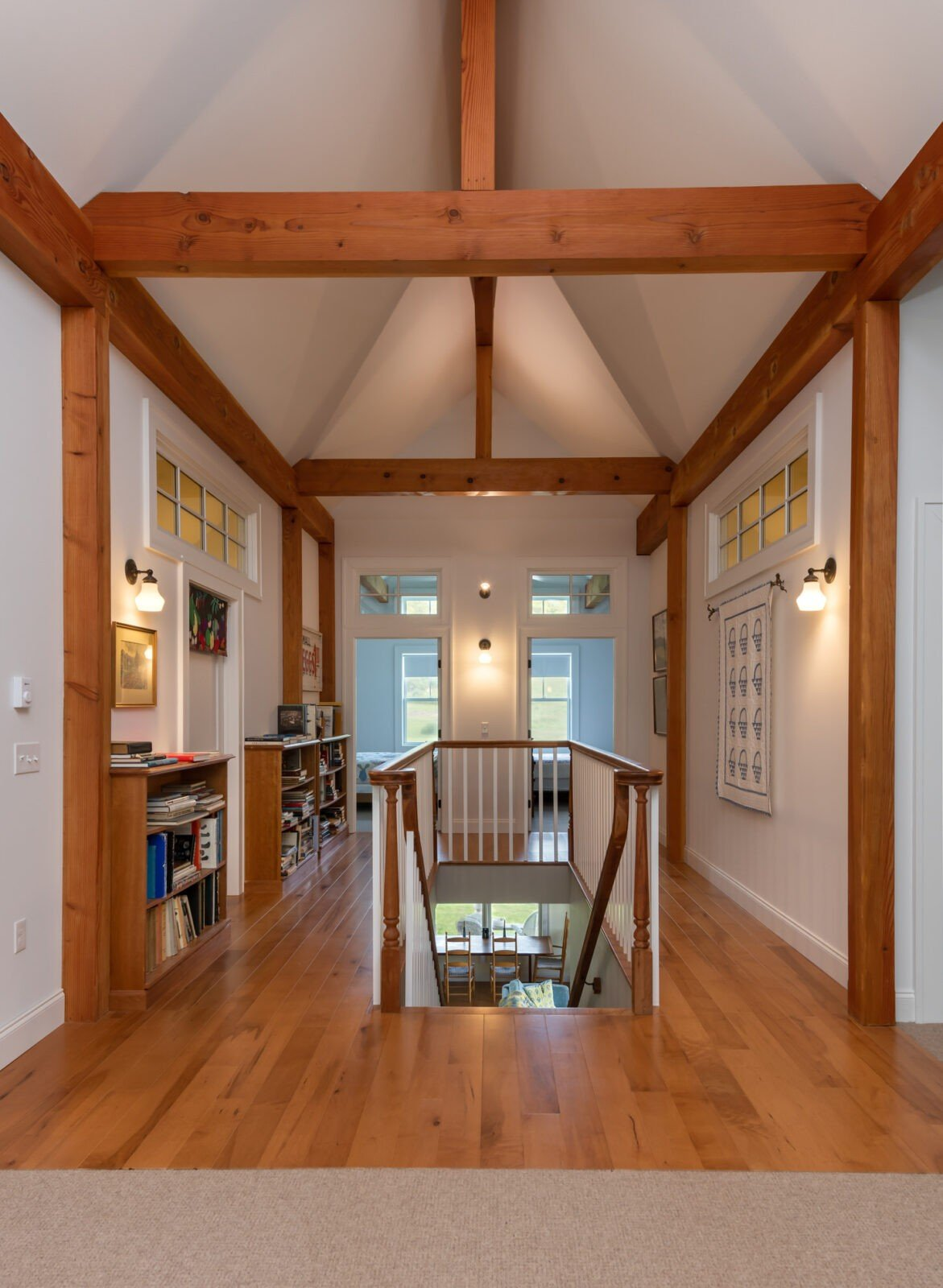 Cooperstown Farmhouse Family Room