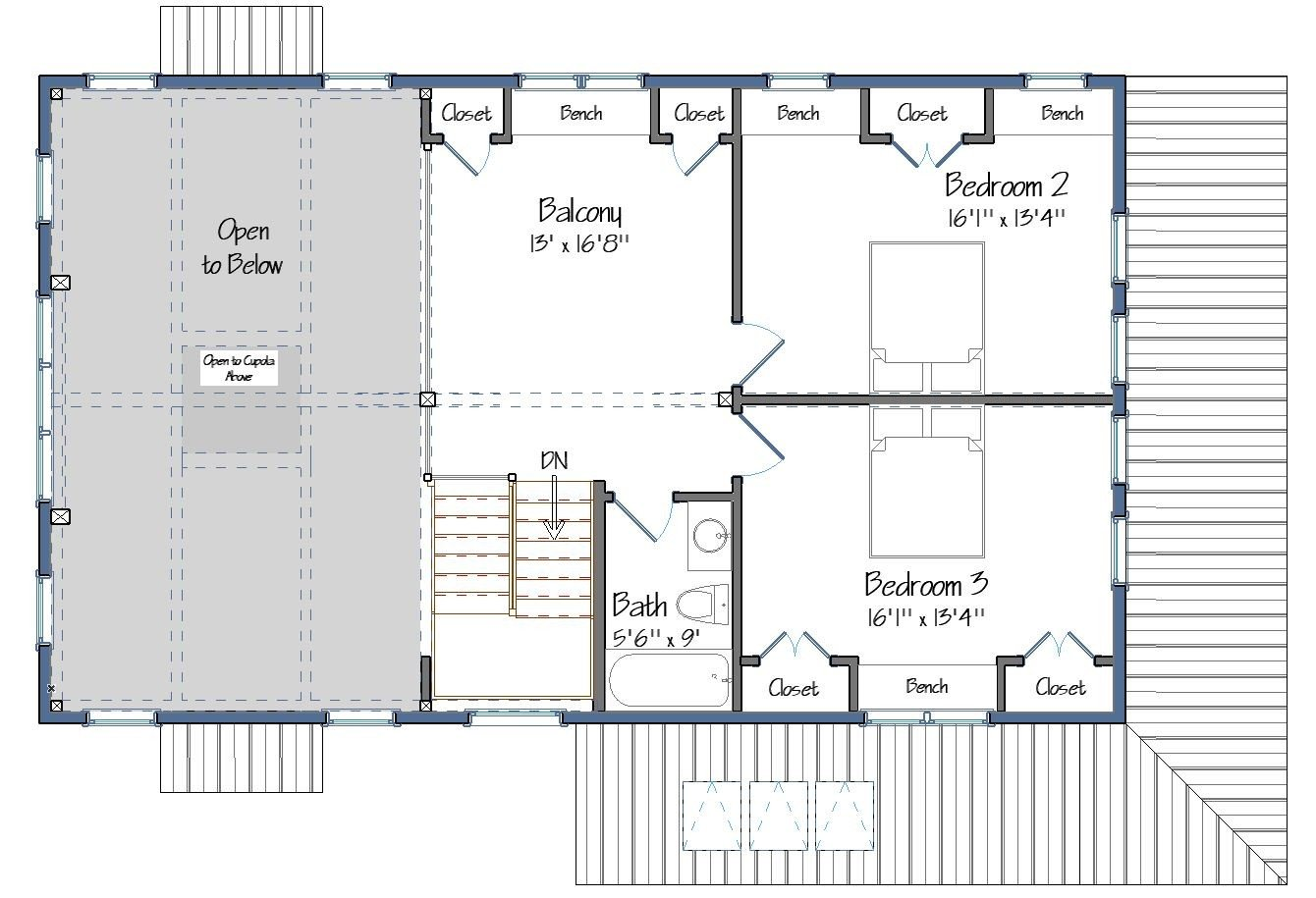 Springfield 2nd Floor Plan