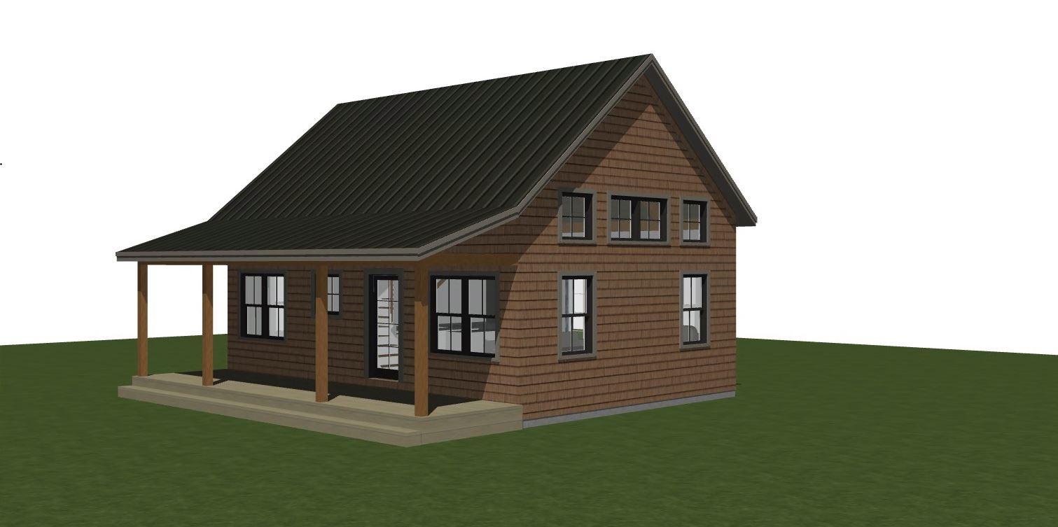 Tidepool Cottage rendering